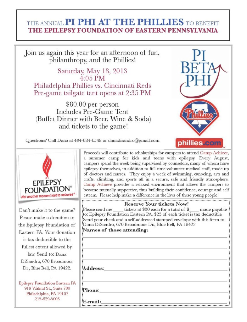 2013 Phillies Flier